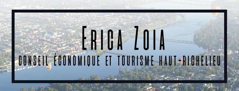 Erica Zoia du Conseil Économique et Tourisme Haut-Richelieu